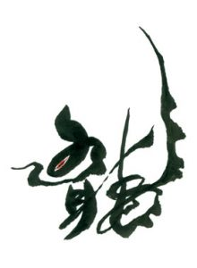Eri_Takase_Japanese_Calligraphy_Dragon_Design_ryuu