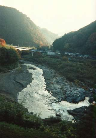 The Yoshino river