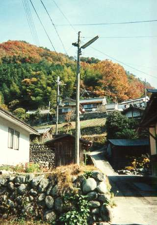 Fukunishi Home and studio at the top of the hill